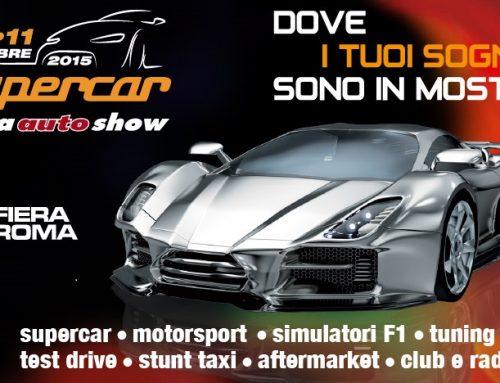 tiassisto24 presente al Supercar Roma Auto Show 2015