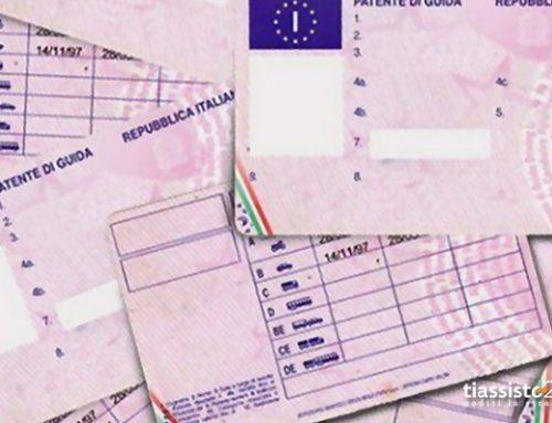 Tabella dei punti patente decurtati per infrazione