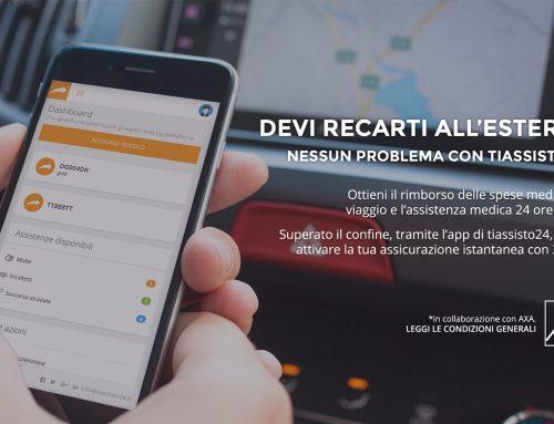 App tiassisto24: nuova release con la prima polizza istantanea al mondo di AXA Italia