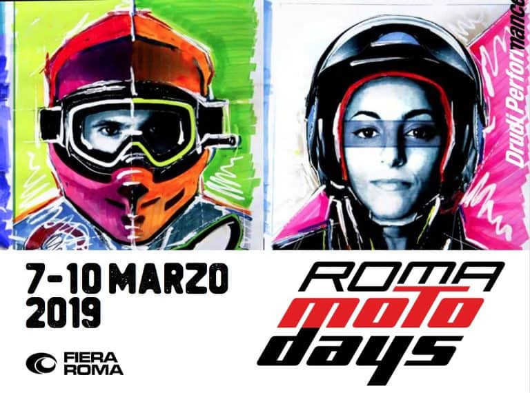 Locandina Motodays 2019