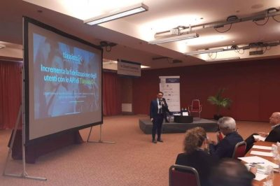 Michele Romagnoli all'Italy Insurance Forum