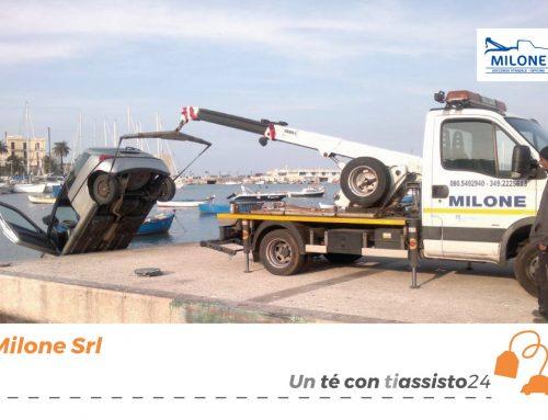 Tiassisto24 presenta le sue officine: Milone srl Soccorso Stradale